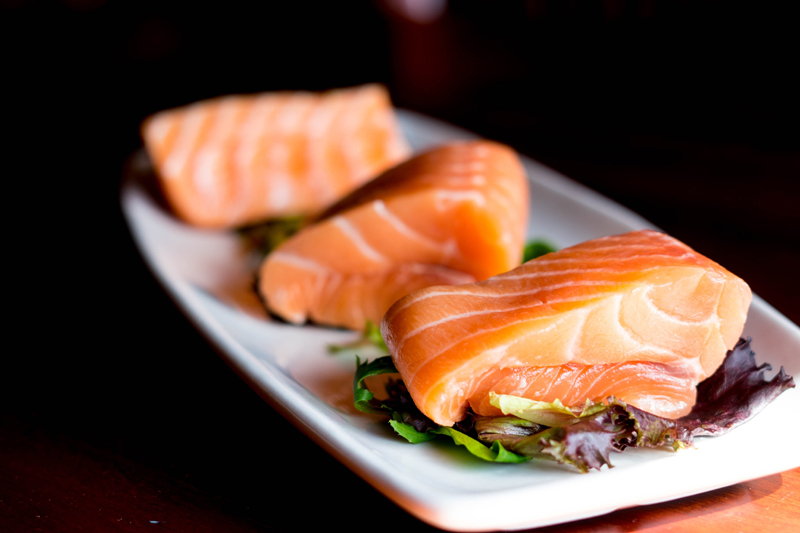 salmon eat protein for weight loss