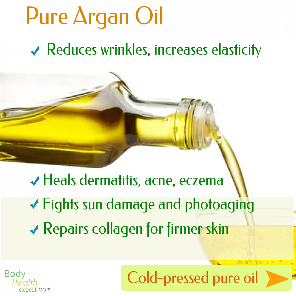 pure Argan oil for your skin