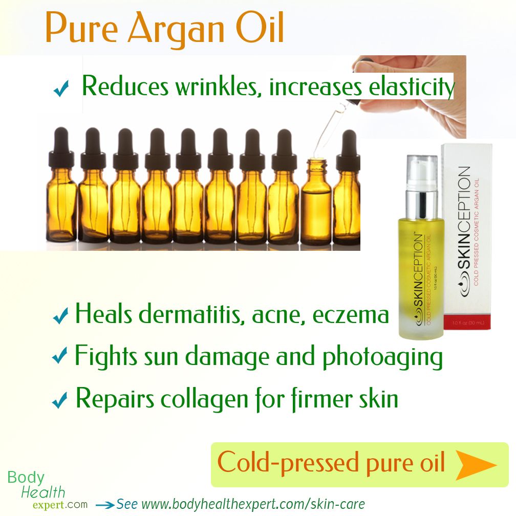 increase your skin's beauty with pure argan oil